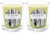 Qualitas Candles Pine Tree Beeswax Candles (Set of 2) (6.5 OZ)