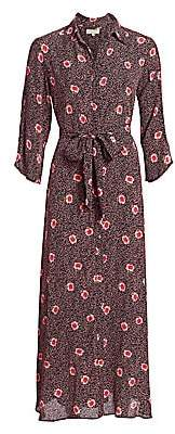 By Ti Mo byTiMo Women's Desirà ̈ Split-Sleeve Floral Maxi Dress