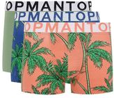 Topman Pink and Green Palms Trunks 3 Pack