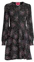 Kate Spade Women's Confetti-Print Smocked Shirtdress - Size 0