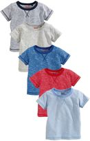 Next Multi Short Sleeve Essentials Tops Five Pack (3mths-6yrs)
