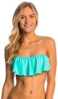 O'Neill Swimwear Solid Ruffle Bandeau Bikini Top 8113310