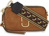 Marc Jacobs Snapshot leather and suede cross-body bag
