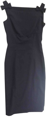 DSQUARED2 Anthracite Wool Dresses