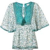 Talitha - Indian Flower print blouse - women - Silk/Cotton - XS