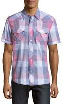 True Religion Western Casual Button-Down Shirt