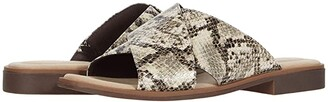 Clarks Declan Ivy (Taupe Snake Synthetic) Women's Shoes