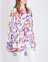 Emilio Pucci Floral-print silk kaftan