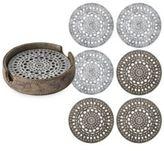 Kim Seybert Mandala Cutout Coasters/Set of 6