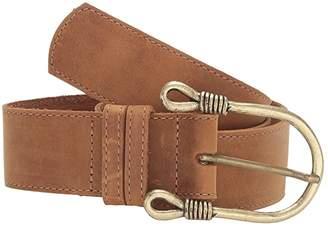Leather Rock Noah Belt (Tobacco) Women's Belts