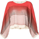 Sonia Rykiel striped cropped sweater