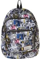 Marc by Marc Jacobs Mens Printed Canvas Backpack