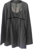 CNC Costume National Grey Wool Dress for Women