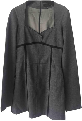 CNC Costume National Grey Wool Dress for Women