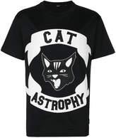 Diesel Cat Astrophy appliqué T-shirt