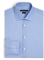 John Varvatos End-on-End Basic Dress Shirt - Slim Fit