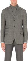 Corneliani Textured wool and cashmere-blend jacket