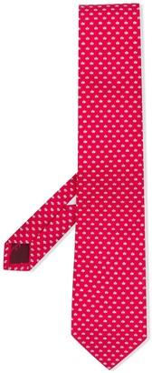 Salvatore Ferragamo Silk Fish-Print Tie