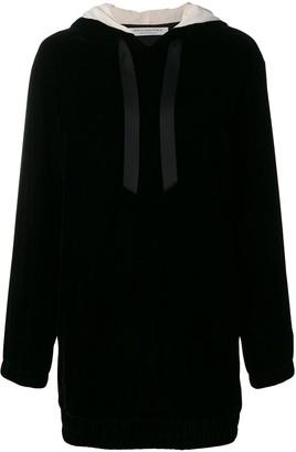 Philosophy di Lorenzo Serafini short hooded dress