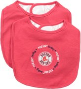 Baby Fanatic Team Color Bibs, Boston Red Sox, 2-Count