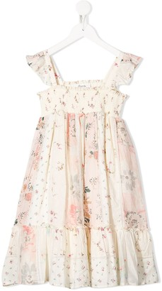 Bonpoint Nestina floral-print dress