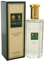 Yardley London Lily of The Valley by of London for Women Eau De Toilette Spray, 4.2 Ounce