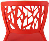 Set of 4 Burgos Dining Side Chair Finish: Red