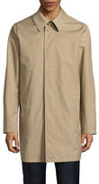 London Fog Laminated Rain Tech Jacket