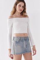 BDG Skate Striped Denim Mini Skirt