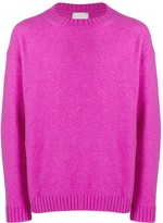 Laneus Ribbed Crew Neck Jumper