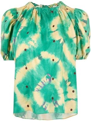 Ulla Johnson Isolda graphic-print shirt