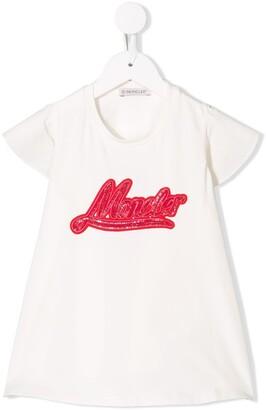 Moncler Enfant A shape T-shirt
