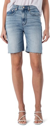 Modern American La Brea High Waist Denim Shorts