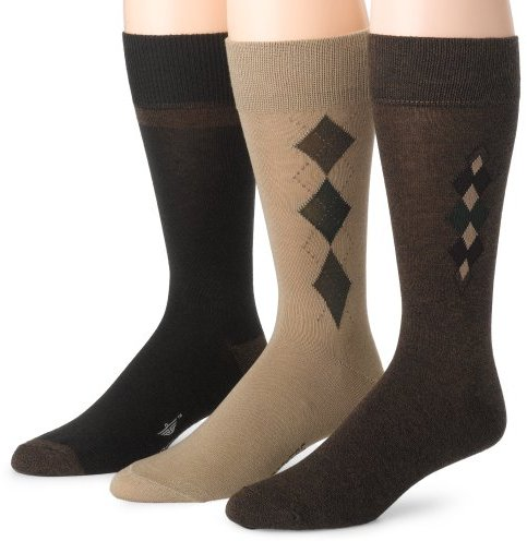 Dockers 3-Pack Performance Dress Argyle Socks