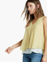 Lucky Brand Yellow Double Layer Tank