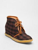 8020 Eliotte Wool Hidden Wedge Tassel Desert Boot