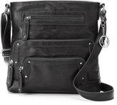 La Diva Zipper Crossbody Bag