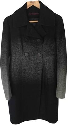 Martin Grant Blue Wool Coat for Women