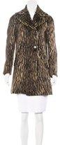 Rochas Wool & Alpaca-Blend Double-Breasted Coat