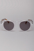 Leonard Clear Sunglasses