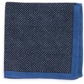 BOSS Men's Dot Wool Pocket Square