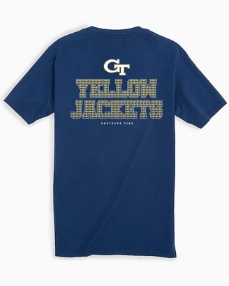 Southern Tide Georgia Tech Chant Short Sleeve T-Shirt