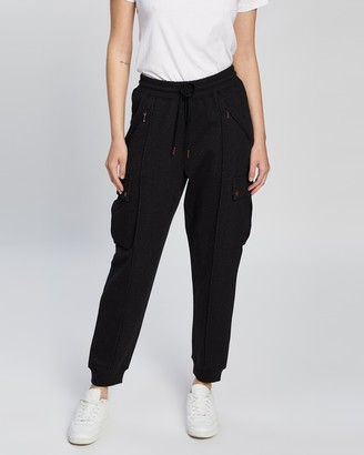 Sass & Bide Women's Black Sweatpants - Dangerous Game Pants - Size XS at The Iconic
