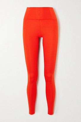 Girlfriend Collective Compressive Stretch Leggings - Red