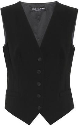 Dolce & Gabbana Wool and silk vest