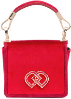 DSQUARED2 mini DD bag - women - Silk Velvet - One Size