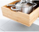 Container Store Bamboo Roll-Out Cabinet Drawers
