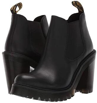Dr. Martens Hurston Seirene (Black Sendal) Women's Boots