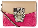 Dolce & Gabbana Lucia Contrast Panel Shoulder Bag