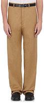 Balenciaga Men's Cotton-Blend Wide-Leg Trousers